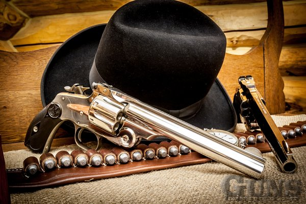 Bob Thomas Ford >> Smith & Wesson New Model No. 3 - Guns of the Old West