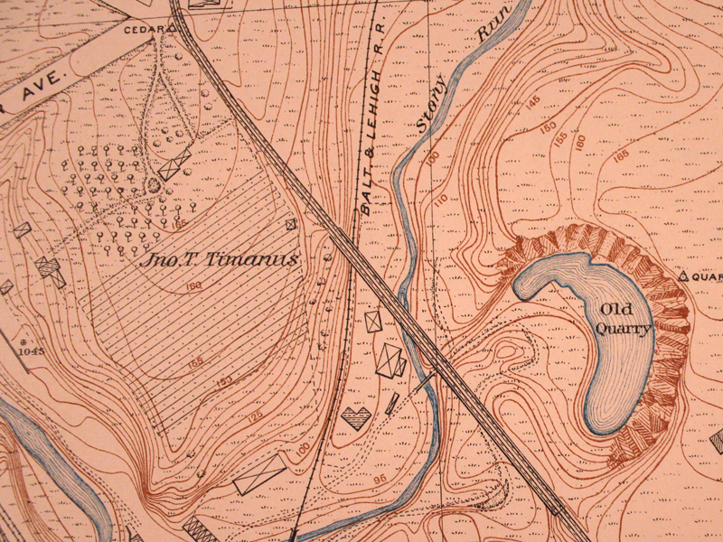 31 Vehicle Bug-Out Bag Topographic Map