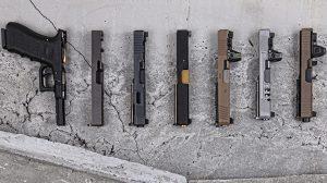 aftermarket slides glock pistols lead