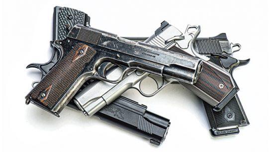 1911 Handgun, historical handguns