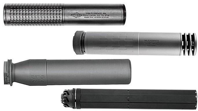 19 Silent Suppressors From the Ballistic Buyer's Guide