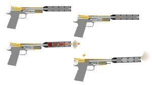 firearm suppressors, gun suppressors, how they work