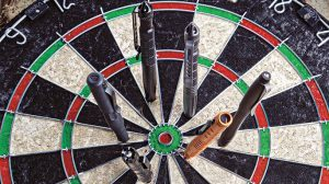 Tactical Pens lead dartboard