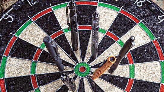 Tactical Pens lead dartboard