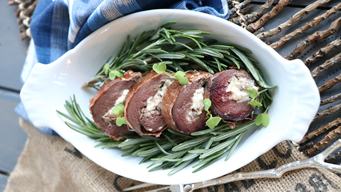 Goose Roulade holiday recipes