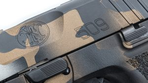 MAD Custom Coating FN 509 Pistol logo