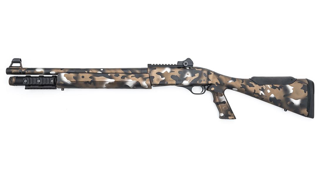MAD Custom Coating FN SLP Tactical Shotgun left
