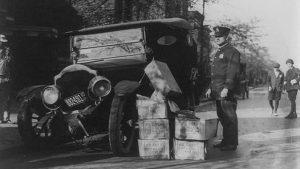 Prohibition Bootlegging police NASCAR