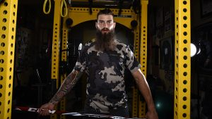 Brent Burns San Jose Sharks NHL Outdoors gym