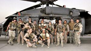 Rescue Pilot MJ Hegar crew
