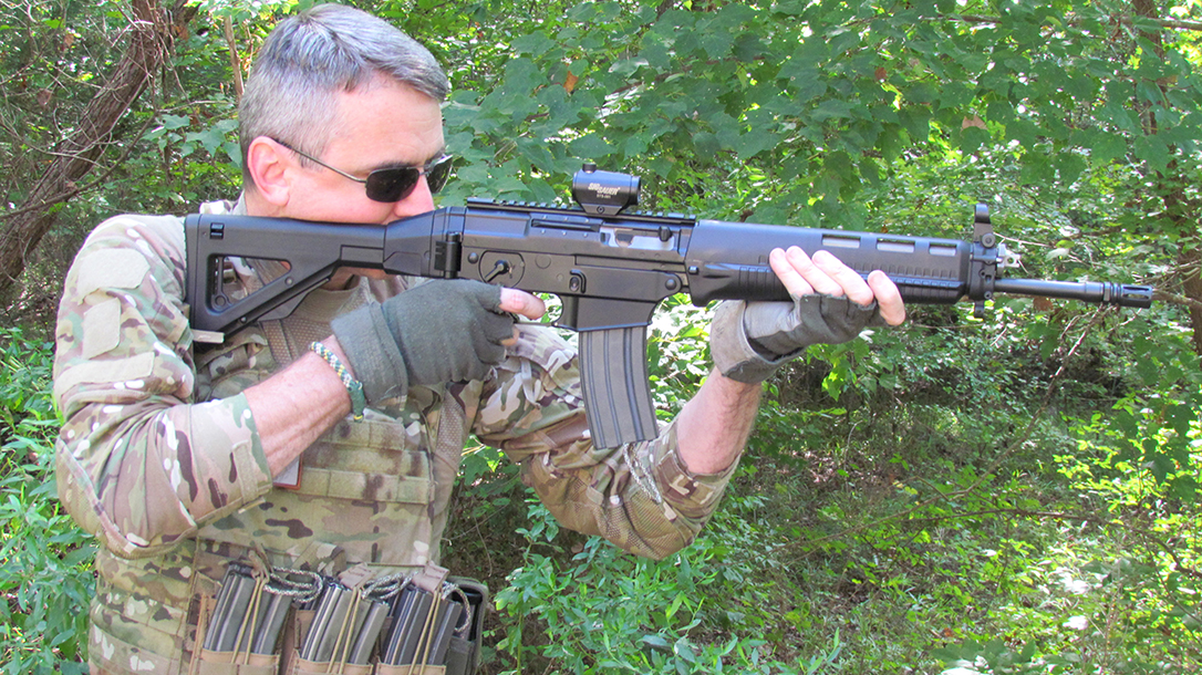 SIG556 Classic Ballistic AR comparison author