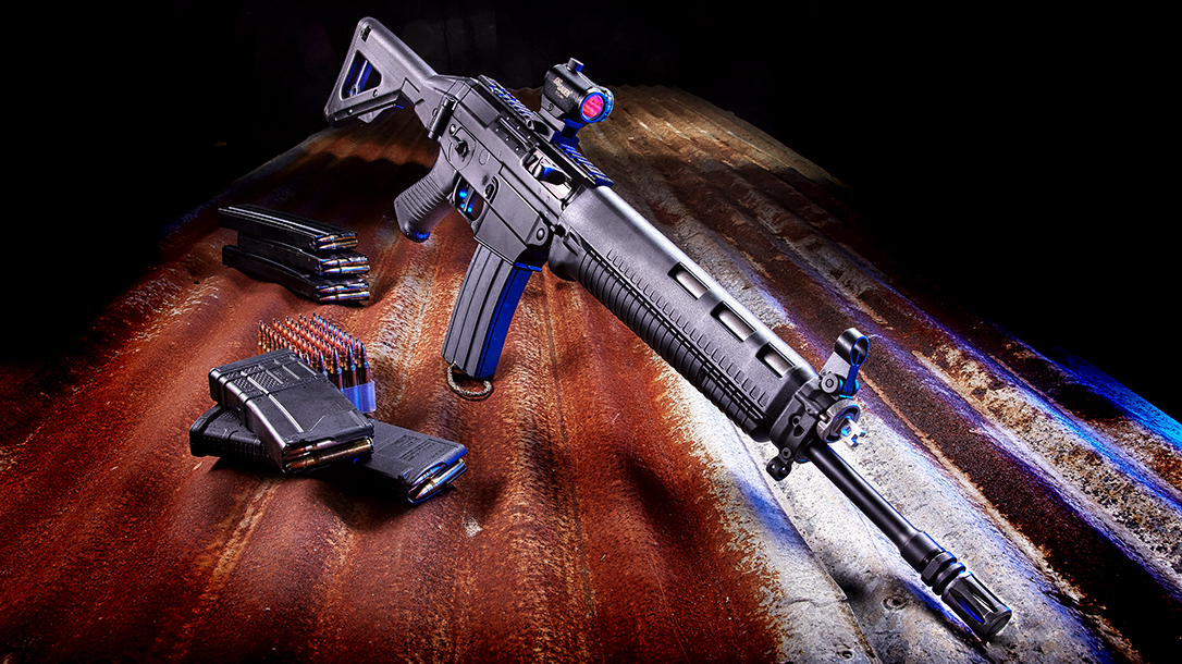 Running a Piston-Driven SIG556 Classic Against the