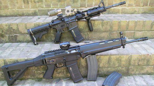 SIG556 Classic Ballistic AR comparison M4