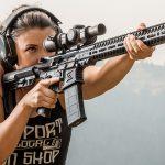Lauren Young Army Veterans Ballistic aim