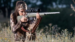 Lauren Young Army Veterans Ballistic hunting