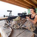 Lauren Young Army Veterans Ballistic range