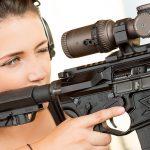 Lauren Young Army Veterans Ballistic scope