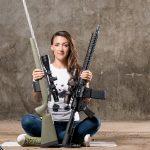 Lauren Young Army Veterans Ballistic photo shoot