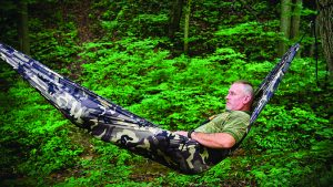 Single Lightweight Hammock Camo hanging tents