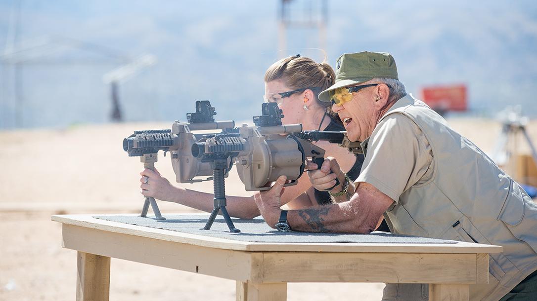 GunnyTime Grenade Launchers Ballistic firing