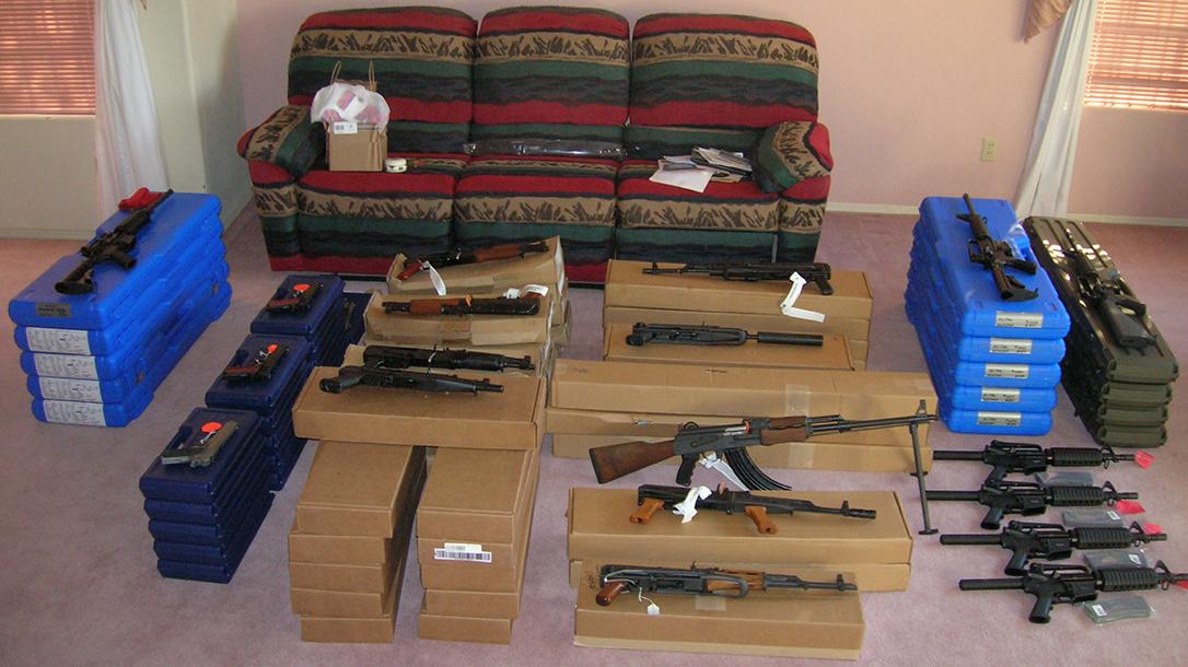 Project Gunrunner living room