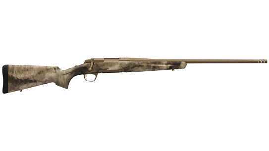 Browning X-Bolt Hell's Canyon Speed Rifle left