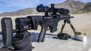 Ruger Precision Rifle test mountain