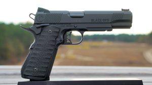 Pat McNamara Carolina Arms Group Blaze Ops 1911 Pistol right