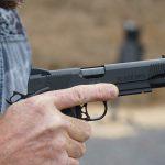 Pat McNamara Carolina Arms Group Blaze Ops 1911 Pistol trigger