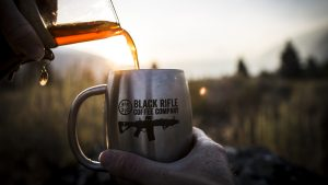Black Rifle Coffee Company Black Guns pour