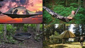 hanging tents hammocks