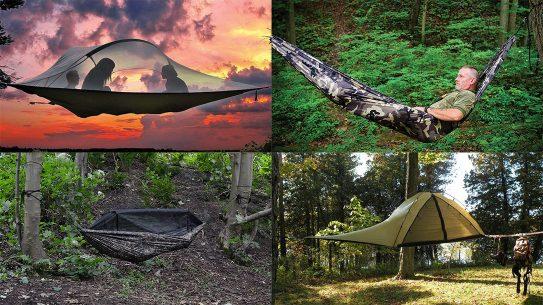 hanging tents hammocks