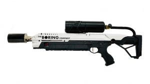 Elon Musk Flamethrower The Boring Company lead