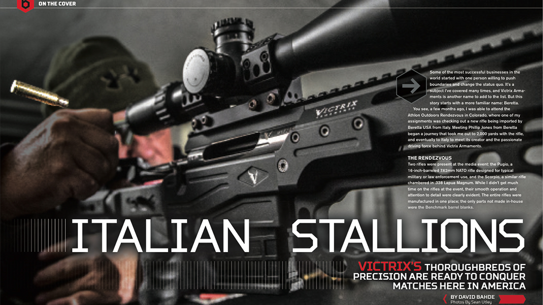 Ballistic Precision Victrix feature story