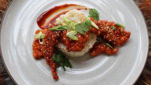 Quail Recipes Korean Fried Quail with Ginger Scallion Rice