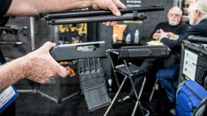 SHOT Show 2018 Adaptive Tactical, LLC. 590M Takedown Kit apart