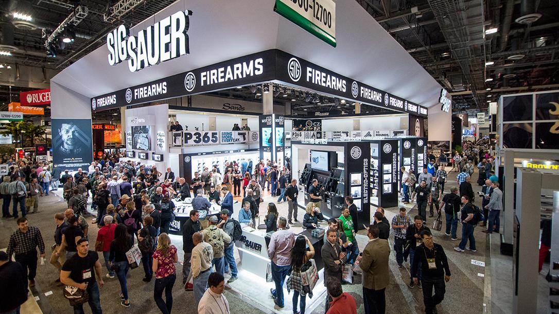 SHOT Show 2018 Sig Sauer booth