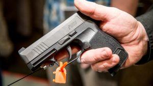 SHOT Show 2018 Sig Sauer P365 pistol