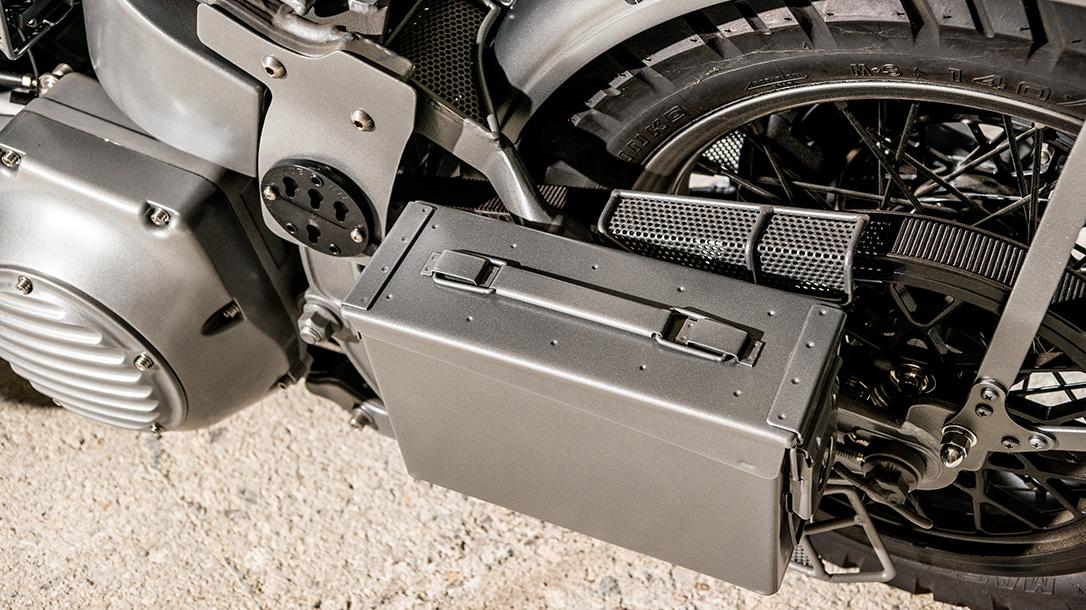Harley WLA 1951 Panhead Repro Bravo Company Paul Buffoni ammo