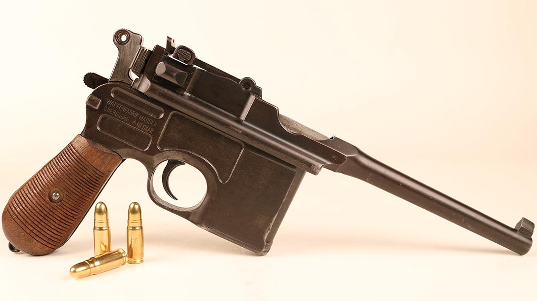 Broomhandle Mauser C96 Pistol ammo