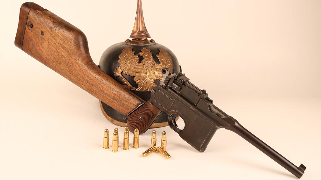 Broomhandle Mauser C96 Pistol lead