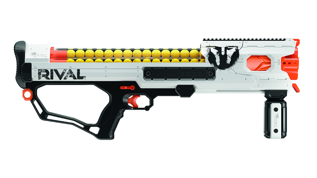 New Nerf Guns Fire at 8 Rounds Per Second, Feature Ammo Drums
