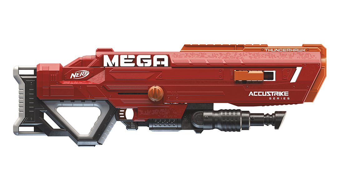 New Nerf Guns fall 2018 Nerf Accustrike Mega Thunderhawk Blaster lead