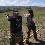 Burris Optics Team Challenge, couple handgun shooting