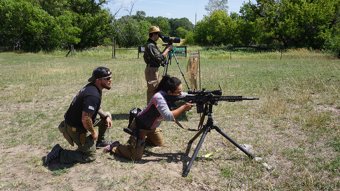 Burris Optics Team Challenge, carbine shooting
