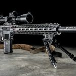 Burris Optics Team Challenge, Falkor Defense Omega rifle