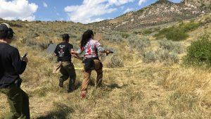 Burris Optics Team Challenge, course running