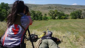 Burris Optics Team Challenge, Tyler Hughes rifle shooting