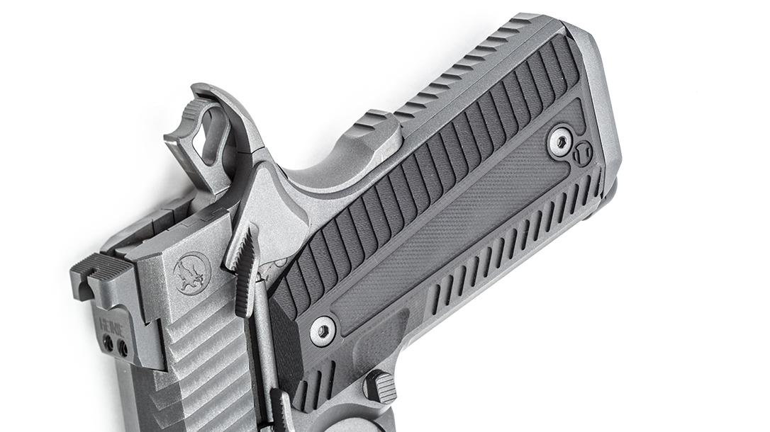 Nighthawk Agent 2 pistol, Agency Arms, grip