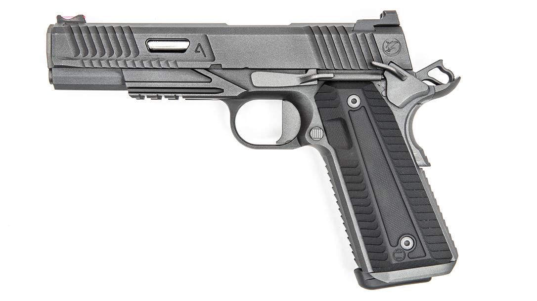 Nighthawk Agent 2 pistol, Agency Arms, profile left
